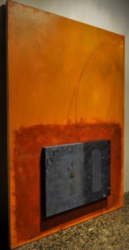 2014, oil on panel, 60 x 90 cm. Variable depth.
